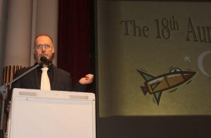 2012 Scott Westerfeld presenting